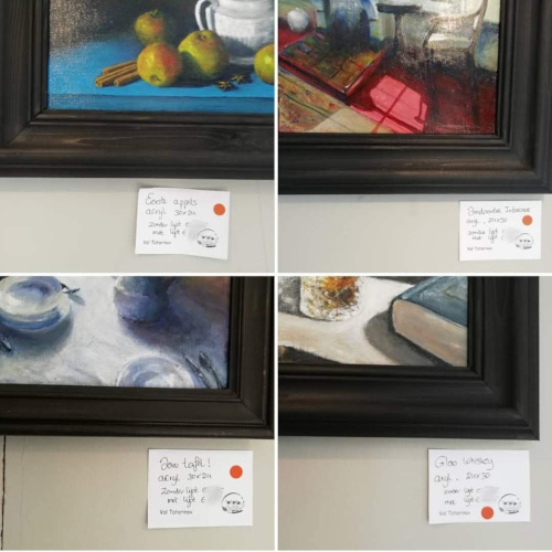 Sold paintings